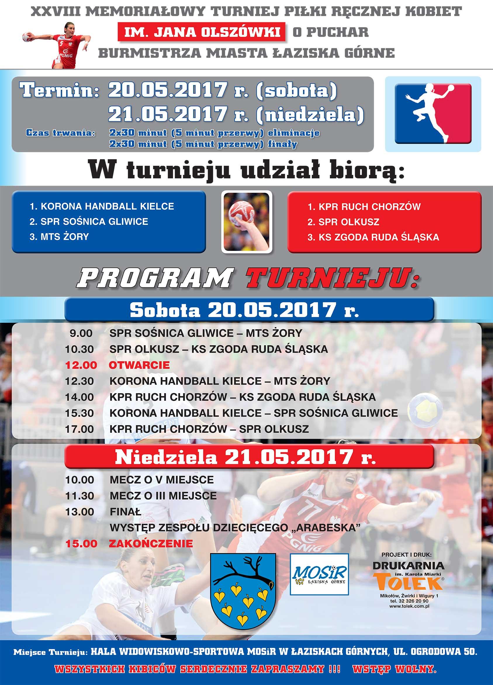 Plakat Turnieju Pr20 2105 Ks Zgoda Ruda śląska Bielszowice