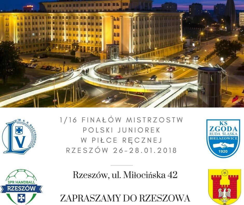 1/16 Mistrzostw Polski Juniorek